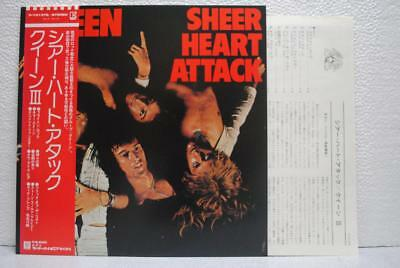 QUEEN / SHEER HEART ATTACK - Japan w/obi