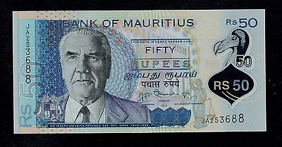 Mauritius  50 Rupees 2013 Polymer  Pick # 65 Unc.
