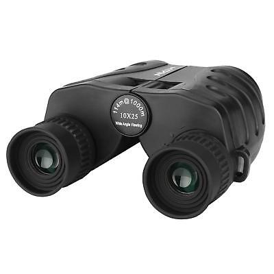 10x25 Binoculars for Adults and Kids Compact HD Folding High Powered with Weak
