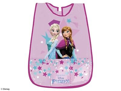 Childrens Kids Girls Official Disney Frozen Pvc Painting Craft Cooking Apron