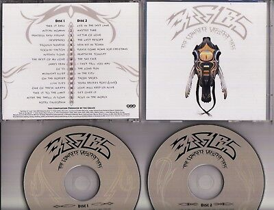 THE EAGLES The Complete Greatest Hits 1994 2-CD WARNER BROS GERMANY MINTfreepost