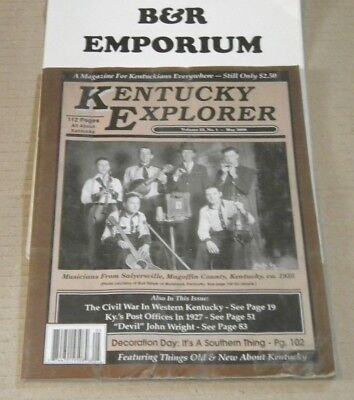 Kentucky Explorer Magazine 2007-2012: Choose Any Two For $15.00 Or Make An Offer