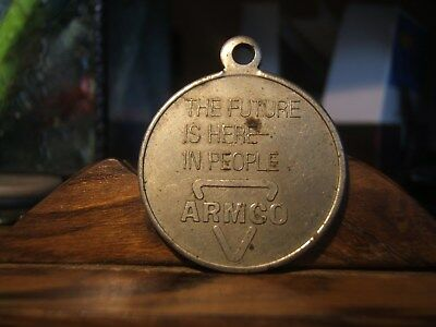 ARMCO   THE FUTURE IS HERE IN PEOPLE Medallion Middle Town, Ohio 1978 Medallion