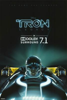 Tron Legacy - original DS movie poster D/S 27x40 Advance DOLBY