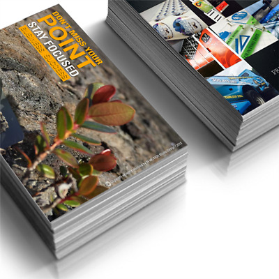 Full Color Standard Postcards Printed 2 Sides / 16pt. Coated with UV Gloss