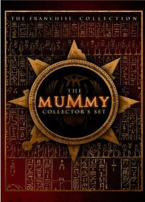 THE MUMMY COLLECTOR'S SET New DVD 3 Films