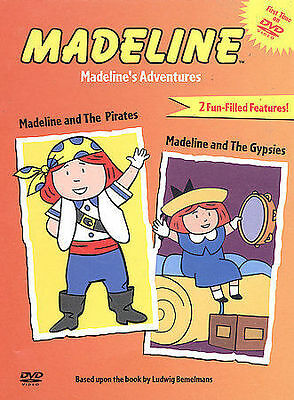 MADELINE AND THE PIRATES + AND THE GYPSIES New DVD
