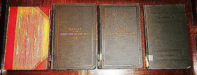 1891 Leather 1896 1897 1914 United States Annual Report Director Mint Coin Book