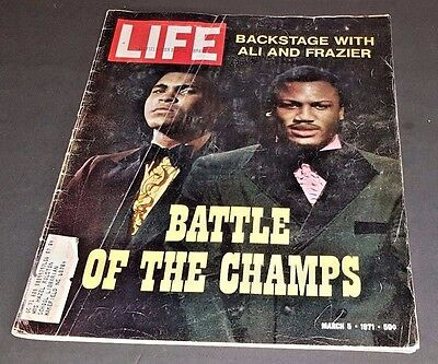 March 5, 1971 LIFE Magazine Ali boxing boxer fighter fight ads FREE SHIPPING 3 4