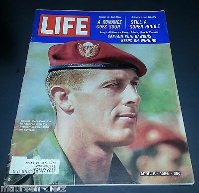 April 8, 1966 LIFE Magazine old 60s ad ads Boxer Boxing Fighter FREE SHIPPING 4