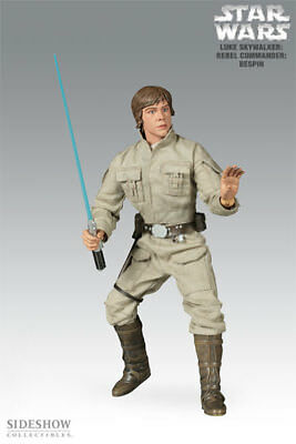 Star Wars~Luke Skywalker~Rebel Commander: Bespin~Sixth Scale Figure~Sideshow~Mib