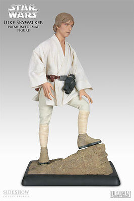 Star Wars~Episode-Iv~Anh~Luke Skywalker~Premium Format Figure~Sideshow~Mib