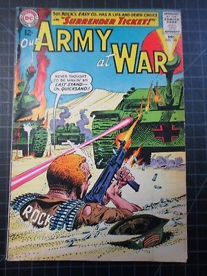 Dc Our Army At War #149 Sgt Rock 1964