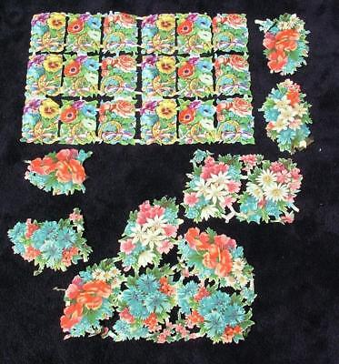 Victorian Antique Die Cut Scraps For Scrap Album - Lot 1