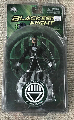Vintage Dc Direct Blackest Night Series 8 Black Lantern Zombie Flash Figure New
