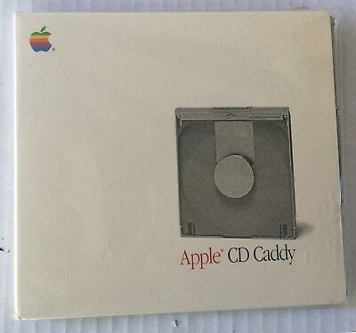 Vtg 80s APPLE CD Caddy NEW OLD STOCK Made In Japan NOS