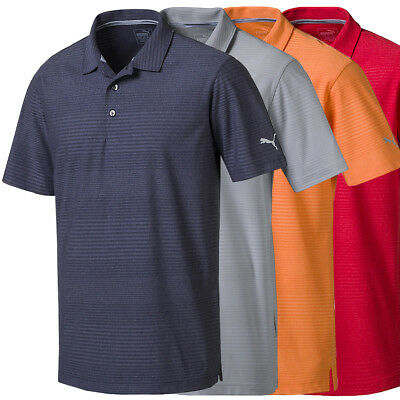 PUMA Golf Men's Pounce Aston Polo Golf Shirt, Brand New