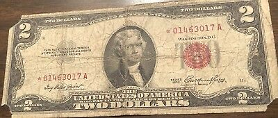 Red Seal Star Note. Date Is 1953