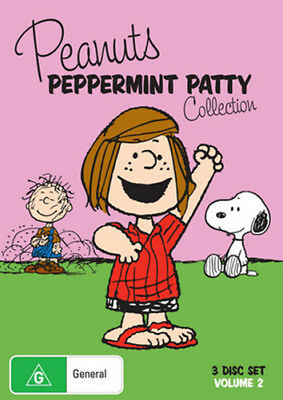 Peanuts: Peppermint Patty Collection - Brand New DVD Region 4