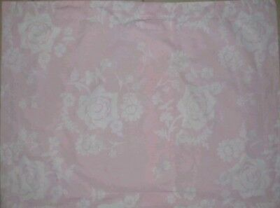 New Pottery Barn Kids PINK Eliza Floral Toddler DUVET crib girl