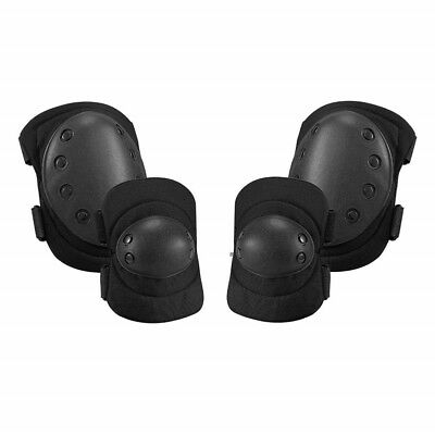 Military Protective Body Equipment Tactical Knee Pad Elbow Set Airsoft Pads Gear