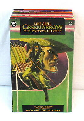 Lot Of 25 GREEN ARROW Comics Longbow Hunters + Ongoing Mike Grell DC 1987-1988