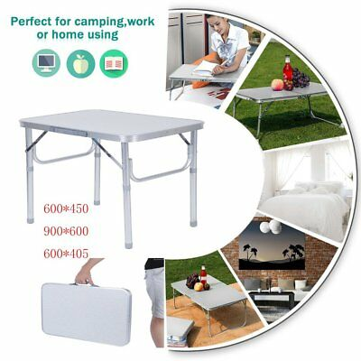 Folding Table Portable Camping Barbecue Stand Laptop Desk Picnic Dining Table VX