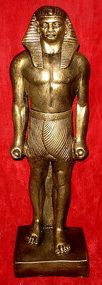 """27"""" Ramses II Statue Large Ancient Standing Sculpture Reproduction 16108"""