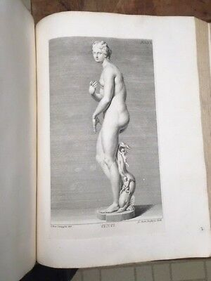 Massive Folio Gori 1734 Antique Statues of Medici Florence 100 Engraved Plates !
