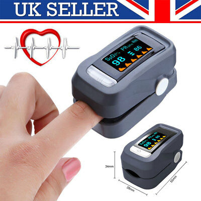SPO2 Pulse Oxygen Oximeter OLED Fingertip Pulse Blood Meter Saturation Monitor