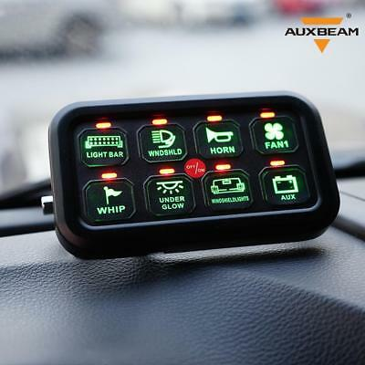 AU 8 Gang on-off Control Switch Panel Electronic Relay System For Jeep Truck UTV