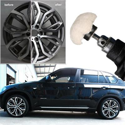 4X Car Motorcycle Cylinder Grinder Mop Cone Buffing Wheel Polishing Polisher Kit