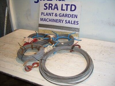 Wire Winch Rope For Tirfor Minifor Winch 500 Kg Approx 20  Metre Long