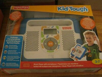 Fisher Price Kid Tough Music Player With Microphone - Blue