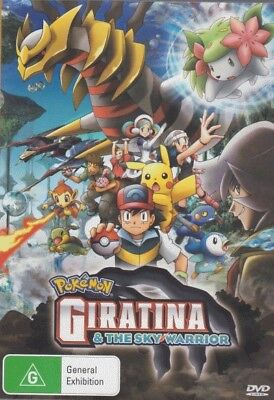 Pokemon Movie 11: Giratina and the Sky Warrior - Brand New DVD Region 4