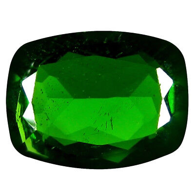 1.15 Ct AAA+ Merveilleux Coussin Forme (8 X 6 mm) Vert Chrome Diopside