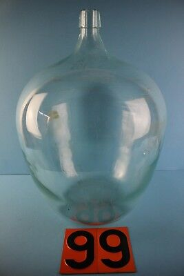 Alter  Glasballon   Transparent  20 Liter Nr 99