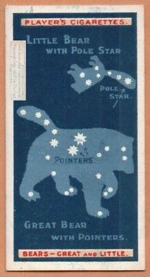 Ursa Major and Minor Constellations  Astronomy Science 100+ Y/O Trade Ad Card
