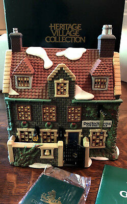 Dept 56 DEDLOCK ARMS 3rd Ed 1994 Dickens Village SIGNATURE Series #57525 SIGNED