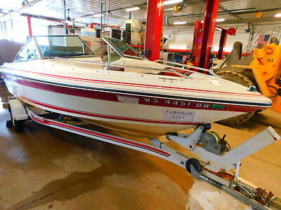 18' Sea Ray 9-1354124  135HP SeaRay Motor w/ Shoreland'r Trailer  T1281529