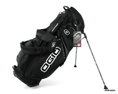 Ogio Silencer Golf Stand Bag Black New - Ex Floor Stock F2862