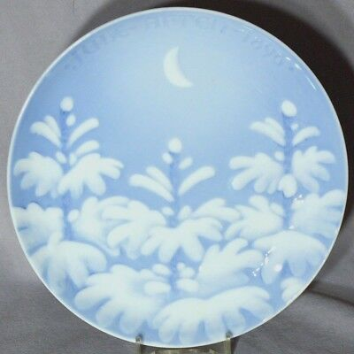 BING & GRONDAHL 1896 Christmas Plate New Moon B&G EXCELLENT!