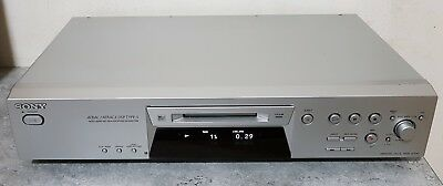 Sony MDS-JE480 MD Mini-Disc Player/Recorder with Sony RM-D10E Remote Control