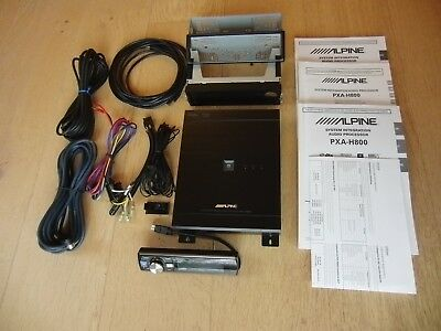Alpine PXA-H800 + RUX-C800 IMPRINT Audio-Prozessor DSP Soundprozessor HIGH END !