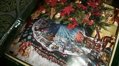 Goodwin Weavers Dept. 56 100% Cotton Tree Skirt New Usa Shops Of Dickens Village