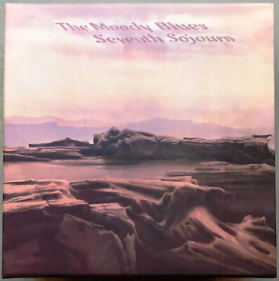 Moody Blues - SEVENTH SOJOURN -  PROMO Box (empty!) for JAPAN Mini-LP CDs - EXC.