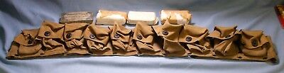 Us Army Mills Medical Belt 10 Pouch Medics Model 1910 Dated Dec.1917 Plus 4 Wrap