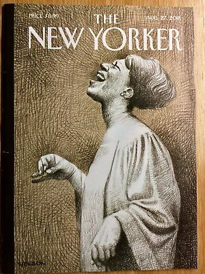 The New Yorker Magazine:  August 27, 2018  -  Mint Condition and Unread