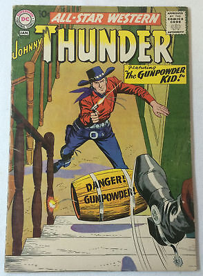 1959 DC Comics ALL STAR WESTERN #110 ~ Johnny Thunder