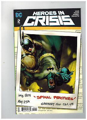 HEROES IN CRISIS #2  1st Printing - Variant Cover               / 2018 DC Comics